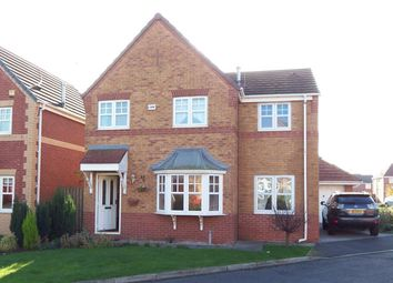 Thumbnail 4 bed detached house to rent in Coleridge Grove, Foxley Heath, Widnes