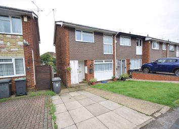 Thumbnail 3 bed end terrace house for sale in Rosedale Close, Luton