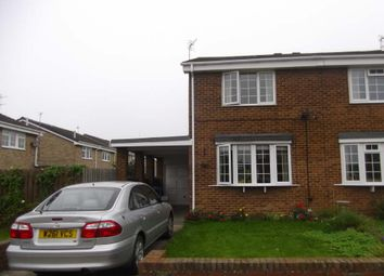 Thumbnail 2 bed semi-detached house to rent in Bradbury Place, New Hartley, Whitley Bay