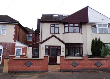 Thumbnail 5 bed semi-detached house for sale in Shipley Road, North Evington, Leicester, Leicestershire