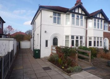 Thumbnail 3 bed semi-detached house for sale in Shavington Avenue, Chester, Cheshire