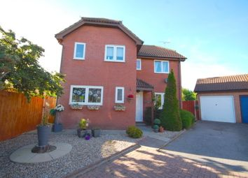 Thumbnail 3 bed detached house for sale in Dukes Lane, Chelmer Village, Chelmsford