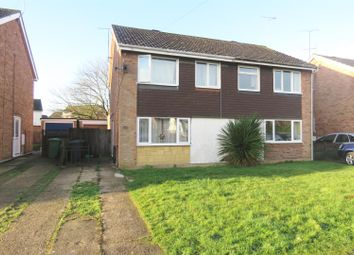 Thumbnail 3 bedroom semi-detached house for sale in Westfield Road, Sawtry, Huntingdon