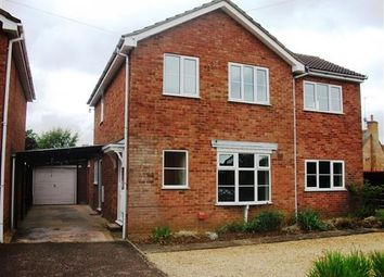 Thumbnail 4 bed detached house to rent in The Knoll, Brixworth, Northampton