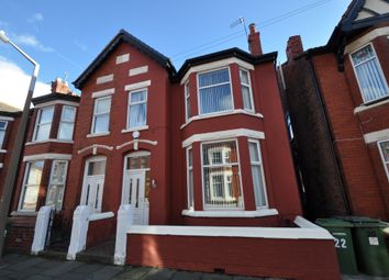 Thumbnail 4 bed semi-detached house for sale in Eaton Avenue, Wallasey