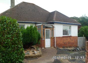 Thumbnail 2 bedroom detached bungalow to rent in Danesway, Pinhoe, Exeter