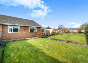 Thumbnail 2 bed semi-detached bungalow for sale in Eddison Close, Worksop