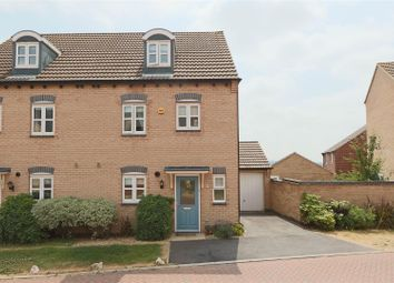Thumbnail 4 bed semi-detached house for sale in Pegswood Drive, Arnold, Nottingham