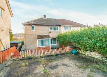 Thumbnail 3 bed semi-detached house for sale in Garth Avenue, Glyncoch, Pontypridd