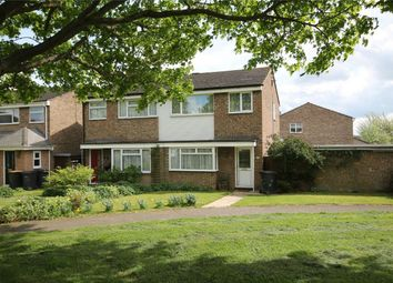 Thumbnail 3 bed semi-detached house for sale in Copthorne Close, Oakley, Bedford