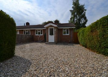Thumbnail 1 bed semi-detached bungalow to rent in South Road, Kingsclere, Hampshire