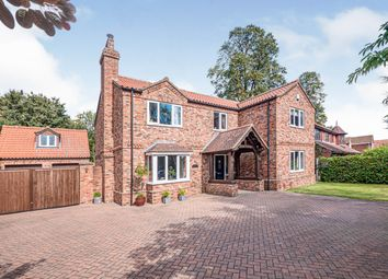 Thumbnail 4 bed detached house for sale in Vicarage Park, Appleby, Scunthorpe