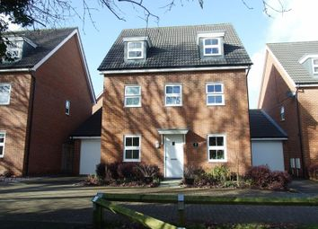 Thumbnail 5 bed detached house for sale in Budds Close, Hedge End, Southampton