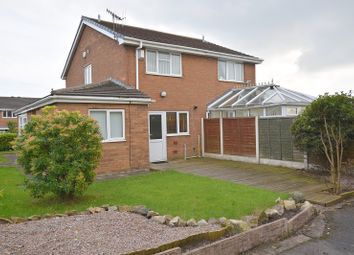 Thumbnail 2 bedroom semi-detached house to rent in Fleckney Avenue, Meir Hey, Stoke On Trent