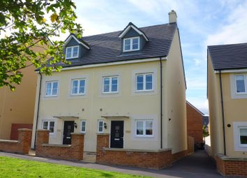 Thumbnail 3 bed town house for sale in Pipistrelle Crescent, Trowbridge