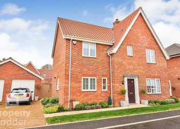 Thumbnail 4 bed detached house for sale in Trafford Way, Spixworth, Norwich