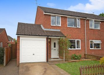 Thumbnail 3 bed semi-detached house for sale in Tennyson Way, Thetford