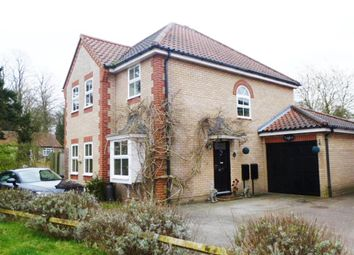 Thumbnail 4 bedroom detached house for sale in Woodlark Close, Thetford