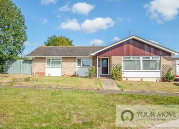 Thumbnail 3 bed bungalow for sale in Warwick Avenue, Halesworth