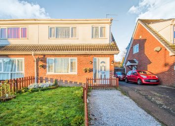Thumbnail 3 bed semi-detached house for sale in Oxwich Close, Cefn Hengoed, Hengoed