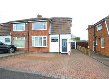 Thumbnail 3 bed semi-detached house for sale in Parklands Avenue, Groby, Leicester