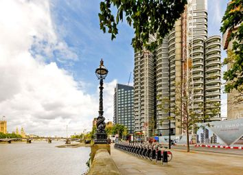 Thumbnail 3 bedroom flat for sale in The Corniche, Tower One, 20 Albert Embankment, London