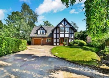 Thumbnail 4 bed detached house for sale in Altrincham Road, Wilmslow