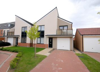 Thumbnail 4 bed detached house to rent in Greville Gardens, Newcastle Upon Tyne