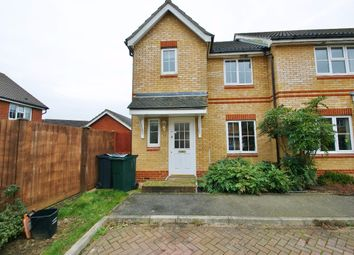 Thumbnail 3 bed end terrace house to rent in Kestrel Close, Kingsnorth