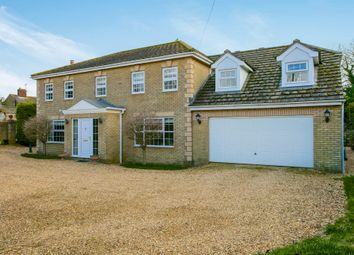 Thumbnail 4 bed detached house for sale in Hollow Road, Ramsey Forty Foot, Huntingdon