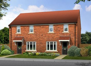 "Thumbnail 3 bed semi-detached house for sale in ""The Hewick"" at Milby, Boroughbridge, York"