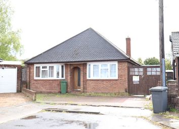 Thumbnail 3 bed bungalow to rent in Challney Close, Luton