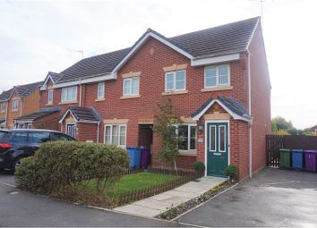 Thumbnail 3 bed end terrace house for sale in Papillon Drive, Liverpool