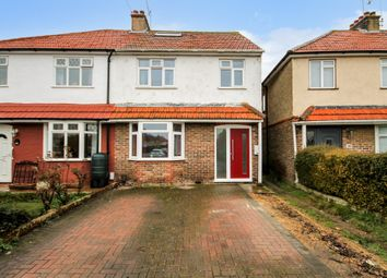 Thumbnail 4 bed semi-detached house for sale in First Avenue, Lancing