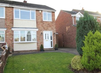 Thumbnail 3 bed semi-detached house for sale in Bexley Drive, Normanby, Middlesbrough