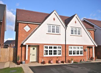 Thumbnail 3 bedroom semi-detached house for sale in Way Field, Leegomery, Telford