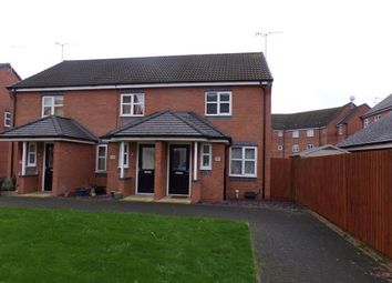 Thumbnail 2 bed end terrace house for sale in Jeque Place, Burton On Trent, Staffordshire