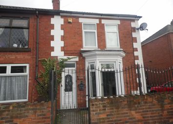 Thumbnail 3 bed terraced house to rent in East Lane, Stainforth, Doncaster
