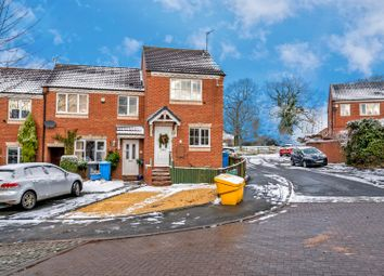 Thumbnail 2 bed end terrace house for sale in Teddesley Way, Huntington, Cannock