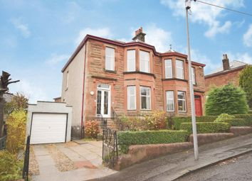 Thumbnail 3 bed semi-detached house for sale in St. Anns Drive, Giffnock, Glasgow
