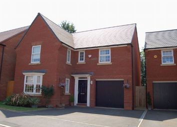 Thumbnail 4 bed detached house for sale in Rose Tree Close, Moulton, Northampton