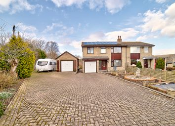 Thumbnail 4 bed semi-detached house for sale in Marsh Hall Lane, Thurstonland, Huddersfield