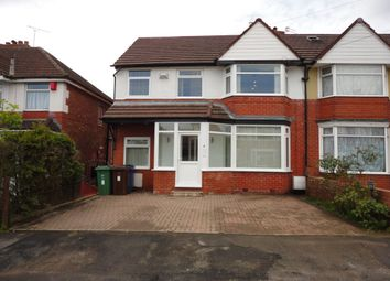 Thumbnail 4 bed semi-detached house to rent in Lynton Drive, Prestwich, Manchester