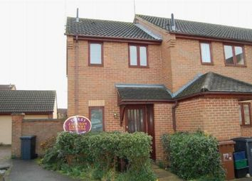 Thumbnail 1 bed end terrace house to rent in Woodpecker Way, East Hunsbury, Northampton