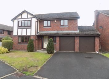 Thumbnail 5 bed detached house for sale in The Orchards, Pickmere, Knutsford