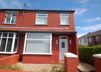 Thumbnail 3 bed semi-detached house for sale in Threlfall Road, Blackpool