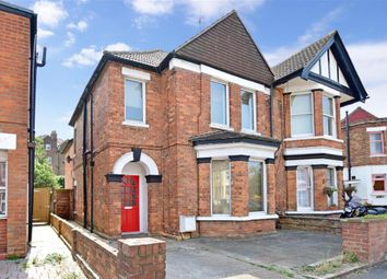 Thumbnail 3 bed semi-detached house for sale in Radnor Park Road, Folkestone, Kent