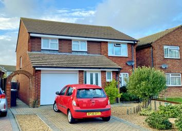 Thumbnail 4 bed detached house for sale in Woodward Close, Eastbourne