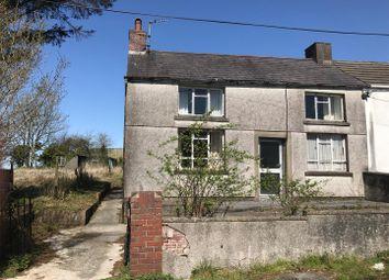 Thumbnail 2 bedroom semi-detached house for sale in Heol Yr Ysgol, Cefneithin, Llanelli