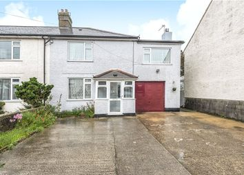 Thumbnail 4 bed semi-detached house for sale in Chard Road, Axminster, Devon